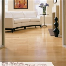 "Somerset Specialty Collection 5"" Solid Maple Natural Wood Flooring"