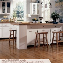 "Somerset Specialty Collection 5"" Solid  Maple Tumbleweed Wood Flooring"