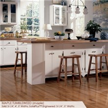 "Somerset Specialty Collection 2 1/4"" Solid  Maple Tumbleweed Wood Flooring"