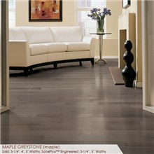 "Somerset Specialty Collection 2 1/4"" Solid Maple Greystone Wood Flooring"