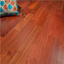 Santos Mahogany Premium Grade Unfinished Engineered Wood Flooring