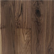 "5"" x 3/4"" Walnut Character Prefinished Solid Apline Wood Flooring"