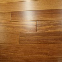 "5"" Brazilian Teak (Cumaru) Unfinished Engineered Wood Floors at Discount Prices"