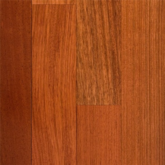 Discount 4 x 3 4 brazilian cherry jatoba clear grade for Cheap solid wood flooring