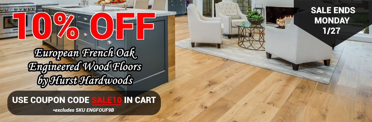 French Oak wood flooring sale wide plank engineered