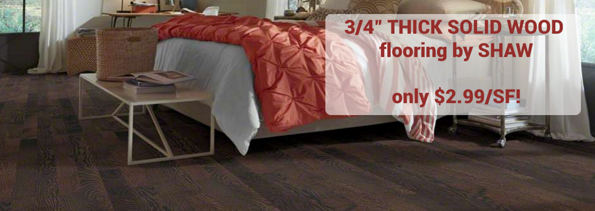 Hurst Hardwoods wood flooring sale
