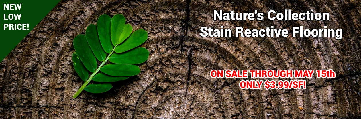 Stain Reactive Flooring at Cheap Prices by Hurst Hardwoods