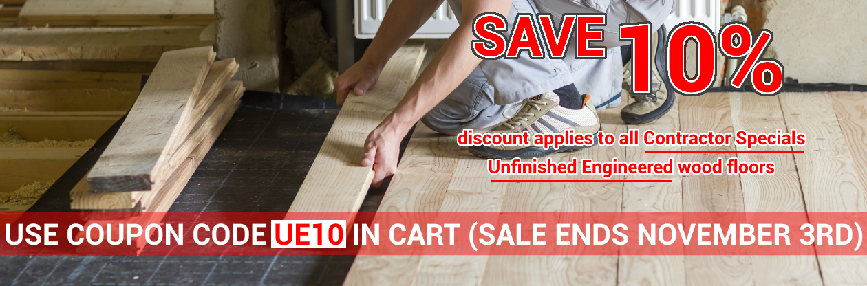 Top quality wood floors on sale at cheap prices by Hurst Hardwoods