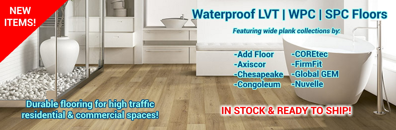 waterproof lvt spc wpc flooring on sale at cheap prices by hurst hardwoods