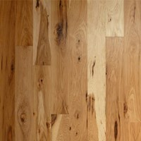 "6"" Hickory Unfinished Solid Wood Flooring at Discount Prices"
