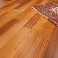 "8"" Brazilian Teak (Cumaru) Unfinished Engineered Wood Flooring at Cheap Prices"