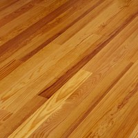 Unfinished Solid Caribbean Heart Pine Hardwood Flooring At