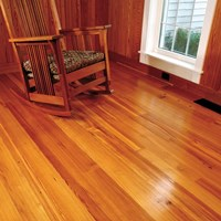 Caribbean Heart Pine Unfinished Solid Wood Flooring at Discount Prices