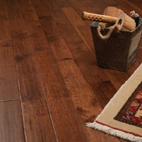 "5"" x 3/4"" Hickory Character Prefinished Solid Wood Flooring Specials at Cheap Prices"