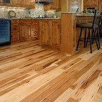 Hickory Unfinished Solid Wood Flooring at Discount Prices