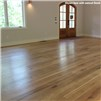 French Oak Unfinished Engineered Wood Flooring by Hurst Hardwoods - completed installation with natural finish