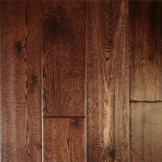 "Ark Artistic Solid 4 3/4"" Oak Tobacco Wood Flooring"