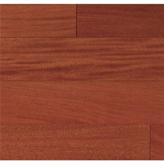 "Ark Elegant Exotics Engineered 4 3/4"" Brazilian Cherry Natural Wood Flooring"