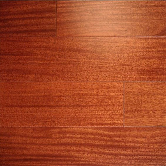 "Ark Elegant Exotics Engineered 4 3/4"" Santos Mahogany Wood Flooring"