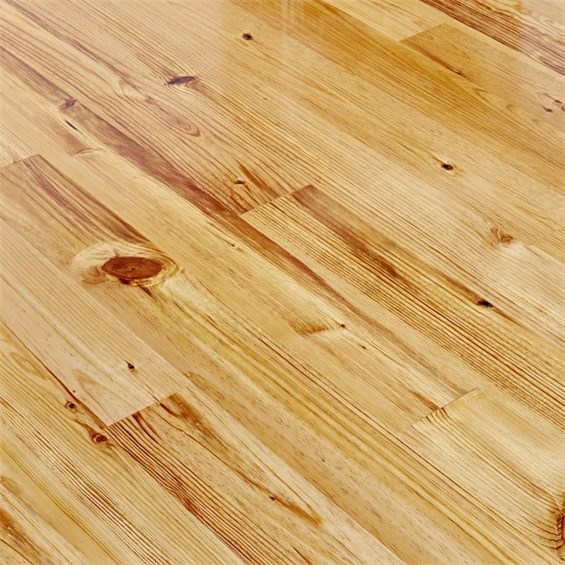 Caribbean Heart Pine Character Grade Unfinished Engineered Wood Flooring