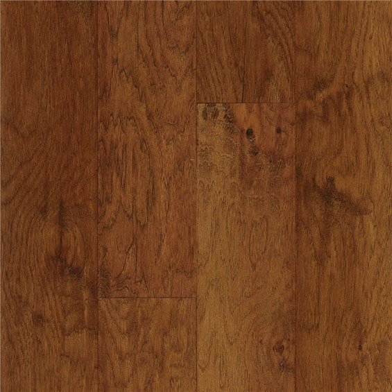 "Armstrong American Scrape 5"" Engineered Hickory Cajun Spice Wood Flooring"