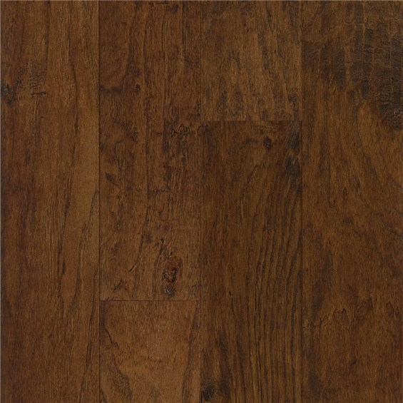 "Armstrong American Scrape 5"" Engineered Hickory Wilderness Brown Wood Flooring"