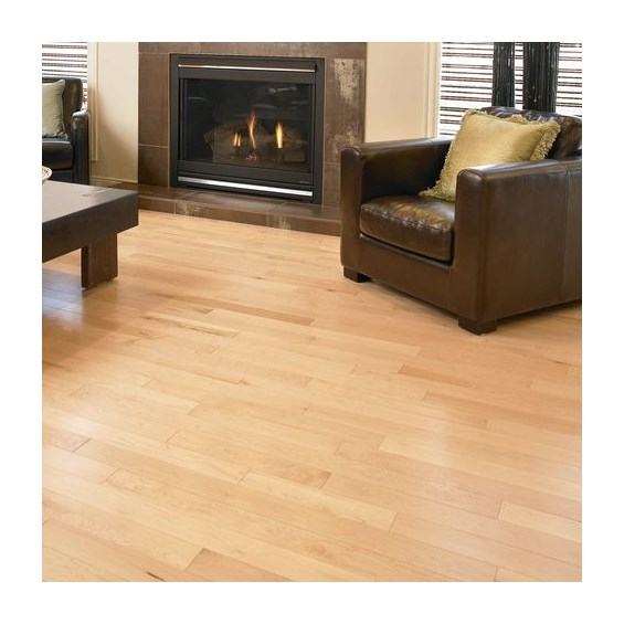 Maple Select Natural Prefinished Solid Wood Flooring Specials  at Cheap Prices