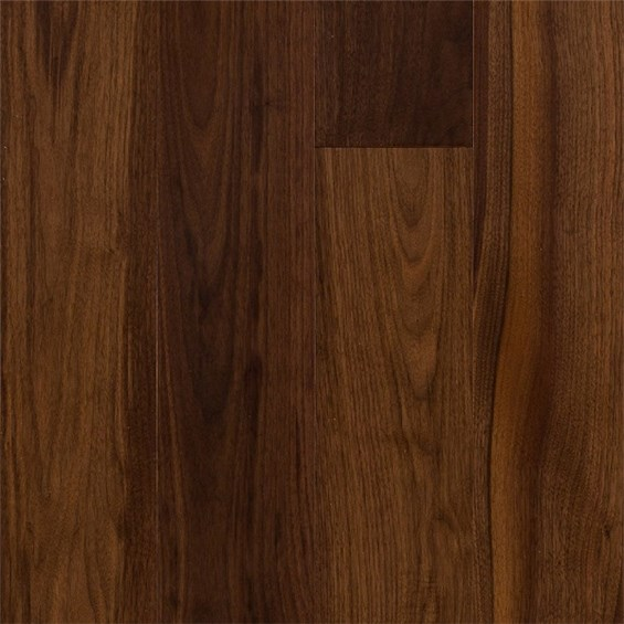 Walnut Select and Better Prefinished Solid Wood Flooring