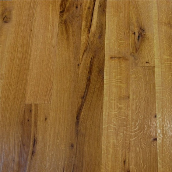 White Oak Character Rift & Quartered Unfinished Solid Wood Flooring