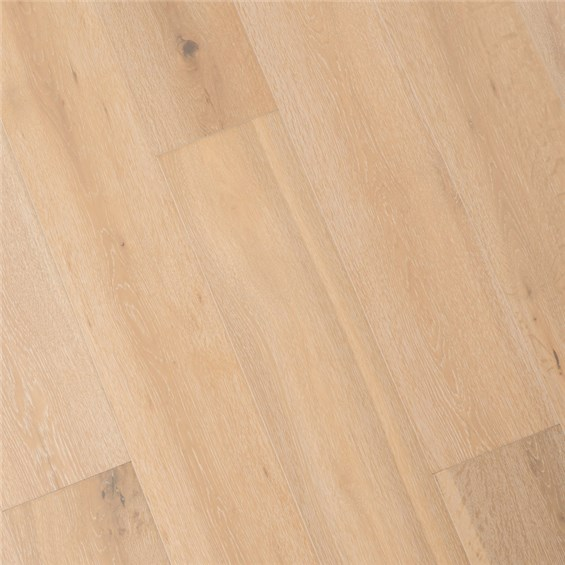 "7 1/2"" x 1/2"" European French Oak Antique White Prefinished Engineered Wood Flooring at Discount Prices by Hurst Hardwoods"