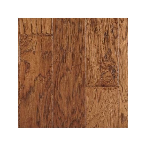 "5"" x 3/8"" Hickory Avondale Prefinished Engineered Budget Wood Flooring"