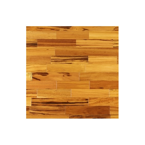 Tigerwood Clear Grade SHORTS Prefinished Solid Hardwood Flooring at cheap prices by Hurst Hardwoods