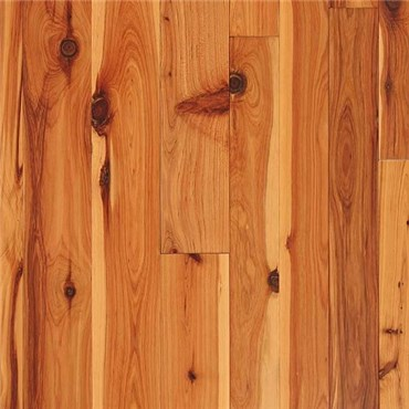 Australian Cypress Clear Grade Unfinished Solid Wood Flooring