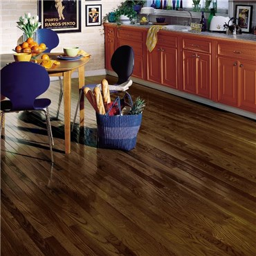 Bruce Dundee Strip Oak Mocha Hardwood Flooring at Discount Prices