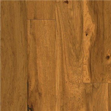 "Armstrong American Scrape 5"" Engineered Hickory Amber Grain Wood Flooring"