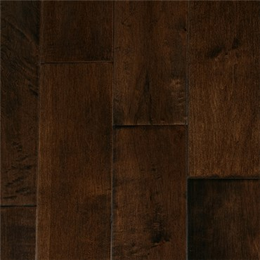 Maple Espresso Hardwood Flooring