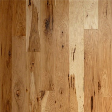 Hickory Character Prefinished Engineered Wood Flooring