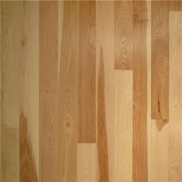Hickory Select and Better Prefinished Engineered Wood Flooring