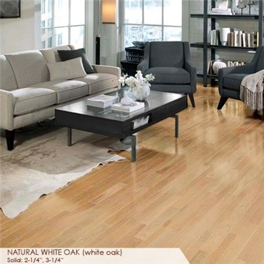 Somerset Homestyle Collection 2 1 4 Solid Natural White Oak Hardwood Flooring Ps2706b