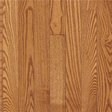"7"" x 3/4"" Red Oak Prefinished Solid Gunstock Wood Flooring"