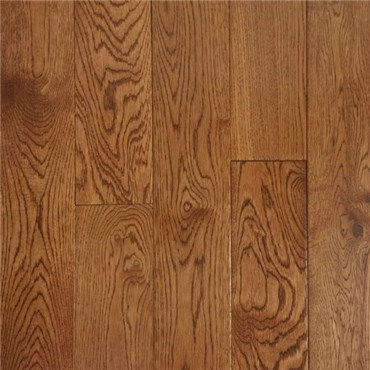 Oak Warm Walnut Prefinished Solid Wood Flooring