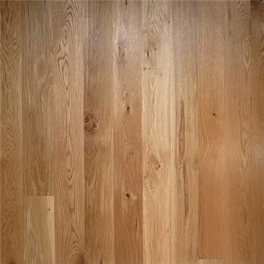 White Oak Character Unfinished Engineered Wood Flooring