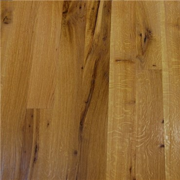 White Oak Character Rift Quartered Unfinished Solid Wood Flooring