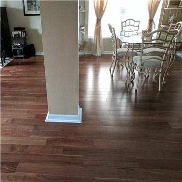 5 X 12 Walnut Selectcommon Grade Prefinished Engineered Flooring