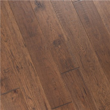 "6"" x 1/2"" Hand Scraped Hickory Forest Prefinished Engineered Hardwood Flooring at Discount Prices by Hurst Hardwoods"