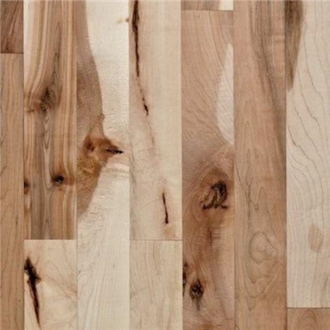 Maple #3 Common Unfinished Engineered Wood Flooring on sale at the cheapest prices by Hurst Hardwoods