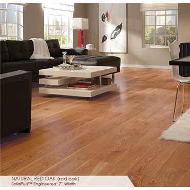 Somerset Wide Plank Collection 7 Red