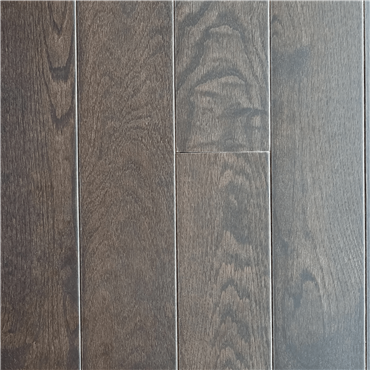 White Oak Charcoal Prefinished Solid Hardwood Flooring by Hurst Hardwoods