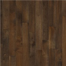 "Bruce Kennedale Strip 2 1/4"" Dark Maple Cappuccino Wood Flooring"