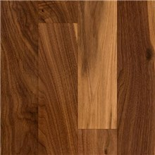 Walnut Character Natural Prefinished Solid Wood Flooring